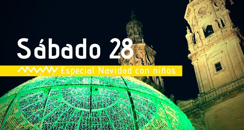 Navidad en Logroño: actividades para niños (sábado 28 diciembre)