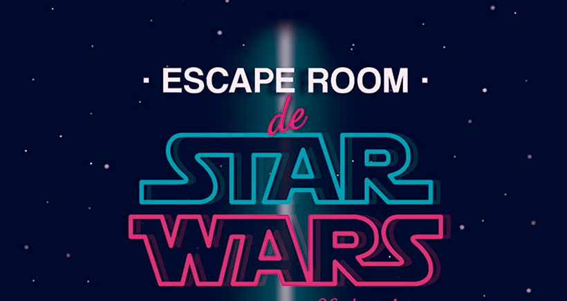 Escape room de Star Wars en Santos Ochoa