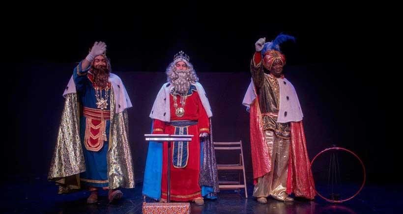 Gorgorito en la Gala de Reyes en el Auditorio de Logroño