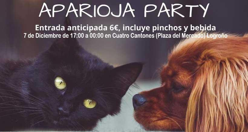 Este sábado, fiesta a favor de la Protectora de Animales