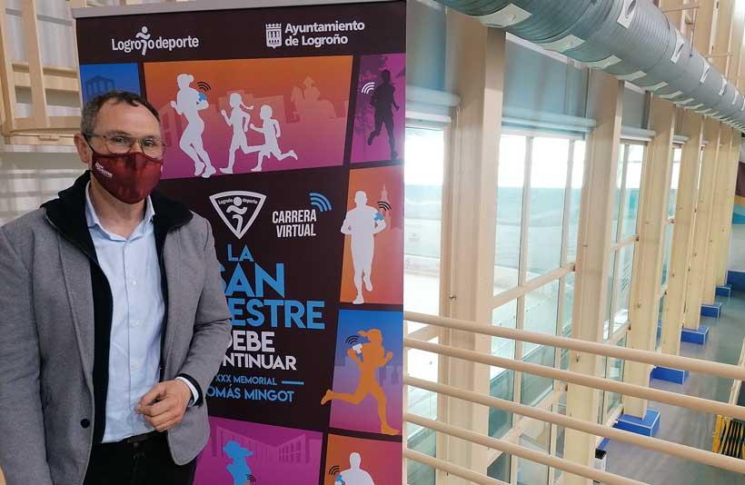 San Silvestre de Logroño, una carrera (virtual) para todos