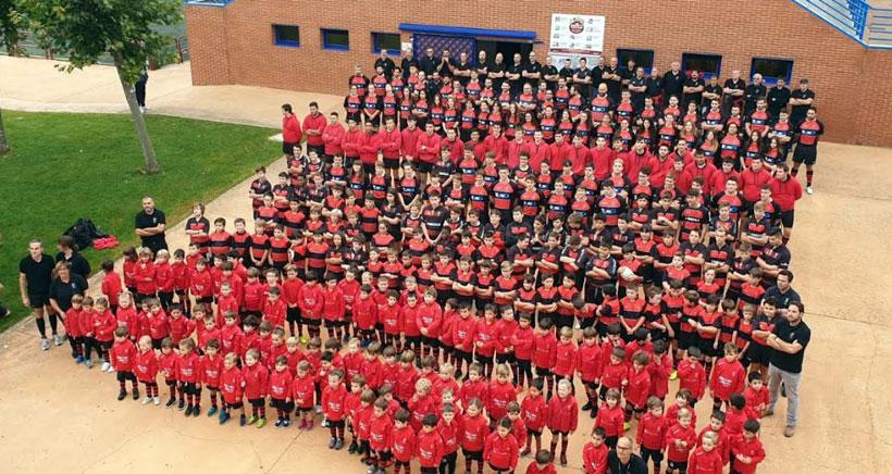 El Rugby Club Rioja lanza un vídeo para felicitar la Navidad