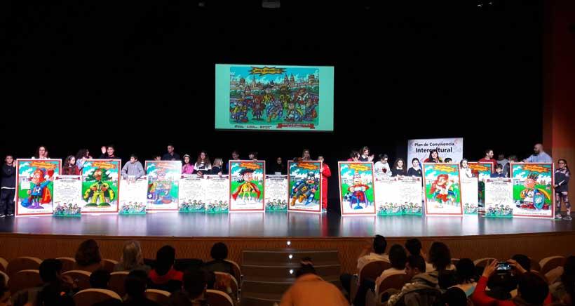 Nueve superhéroes velarán por la seguridad en los colegios de Logroño