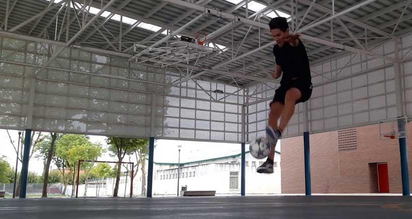 """El subcampeón de España de """"freestyle football"""" mostrará su talento en Xperience Parque Rioja"""