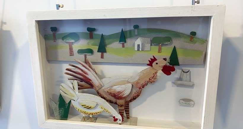 Antonio Santos, Premio Nacional de Ilustración, expone 40 dioramas en la Rafael Azcona