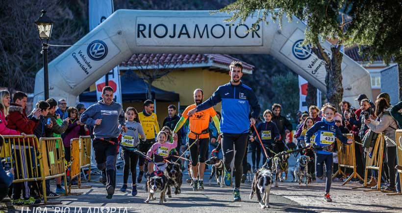 Participa en la tercera jornada de Canicross en Casalarreina