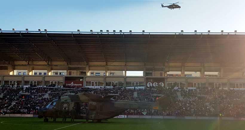 helicoptero reyes magos Logrono