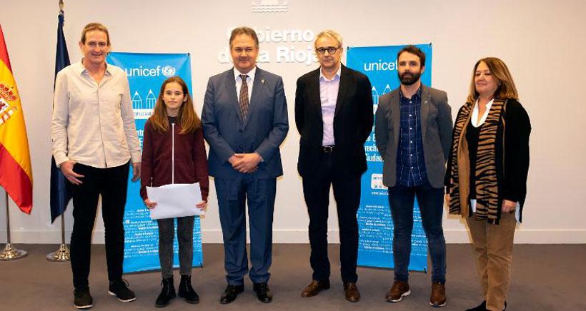 UNICEF distingue a Las Gaunas y Comercio comos centros referentes en la Educación en Derechos
