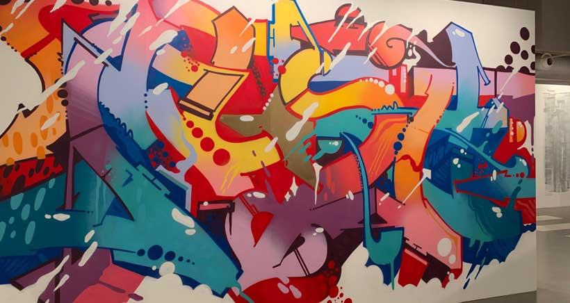 'Arte Urbana', la exposición de las artistas del grafiti