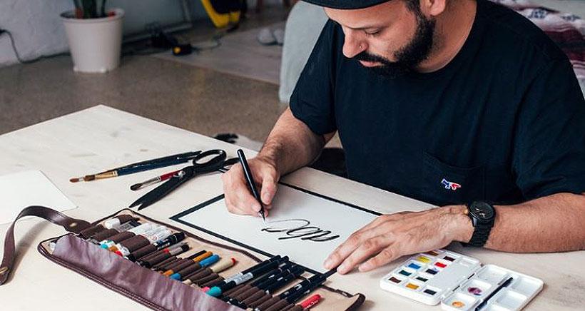 Taller de iniciación a la caligrafía para jóvenes (desde 8 años)