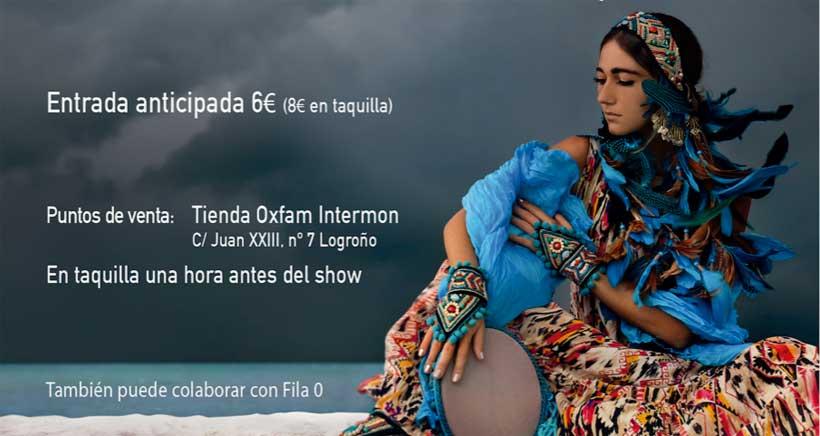Espectáculo de danzas étnicas inspirado en grandes mujeres de la historia