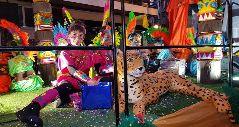 """""""Cada año se nota más nivel en el desfile de Carnaval"""""""