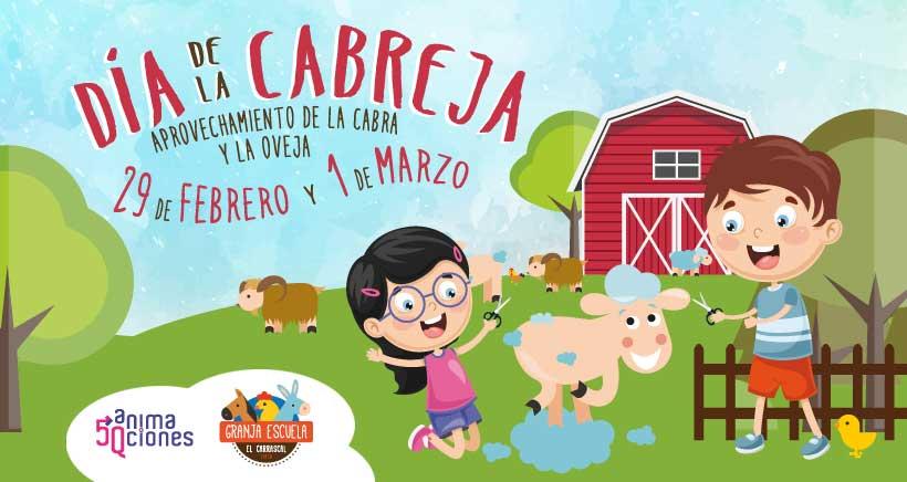 Celebra el 'Día de la Cabreja' en la granja escuela El Carrascal