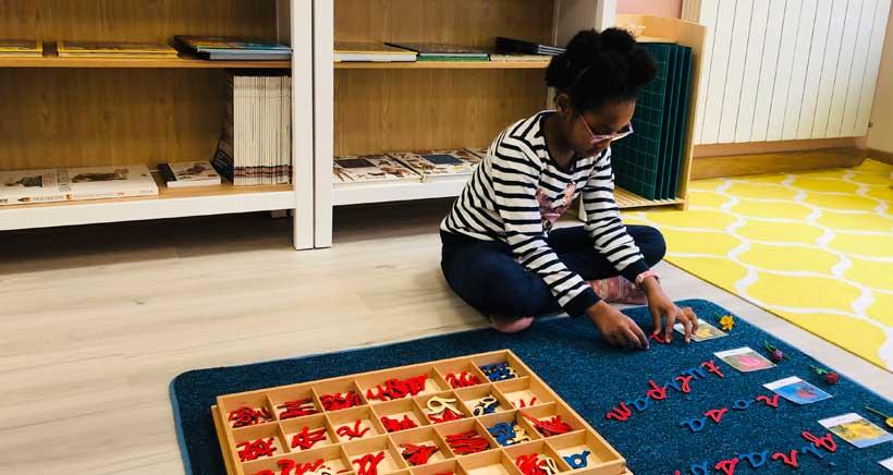 Educación Primaria, en Cuarto Creciente Montessori School
