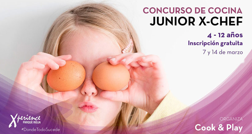 Concurso de cocina infantil en Xperience Parque Rioja