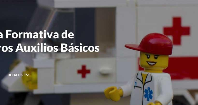 Aprende Primeros Auxilios con Cruz Roja (nivel básico)