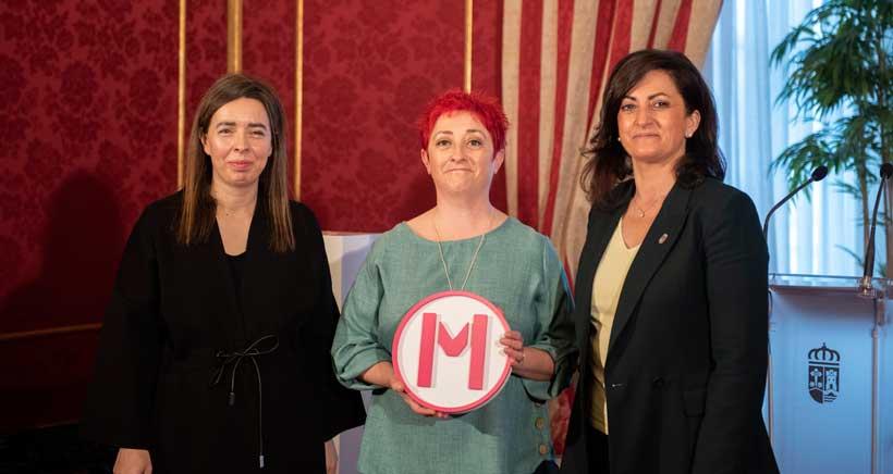 La payasa Merche Ochoa recibe el Premio Mujeres en el Arte en La Rioja