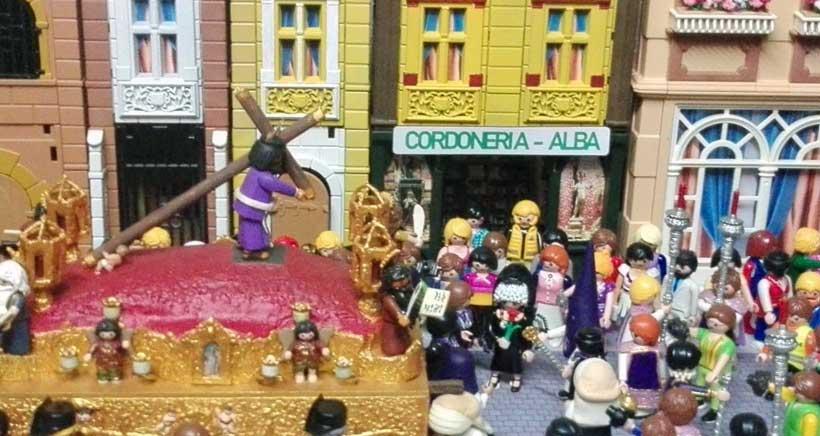 La Semana Santa a través de muñecos de Playmobil