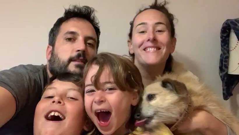 Encierro en casa (días 5 y 6): la líamos con el vídeo #yomequedoencasa