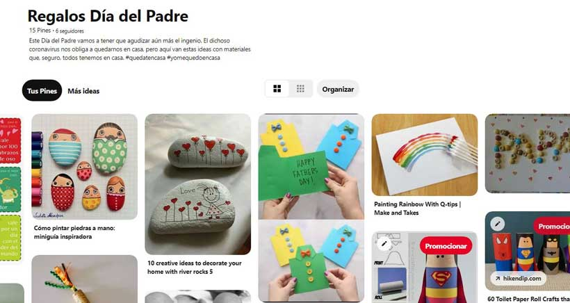 Manualidades Día del Padre, nuestra selección en Pinterest