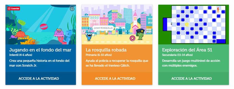 actividades-online-scratch-ischool