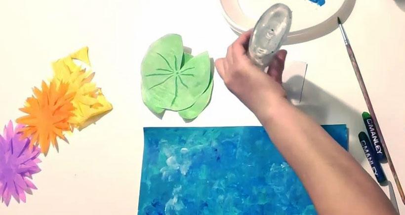 Clase de arte online con Art&Ñam. Hoy, los nenúfares de Monet