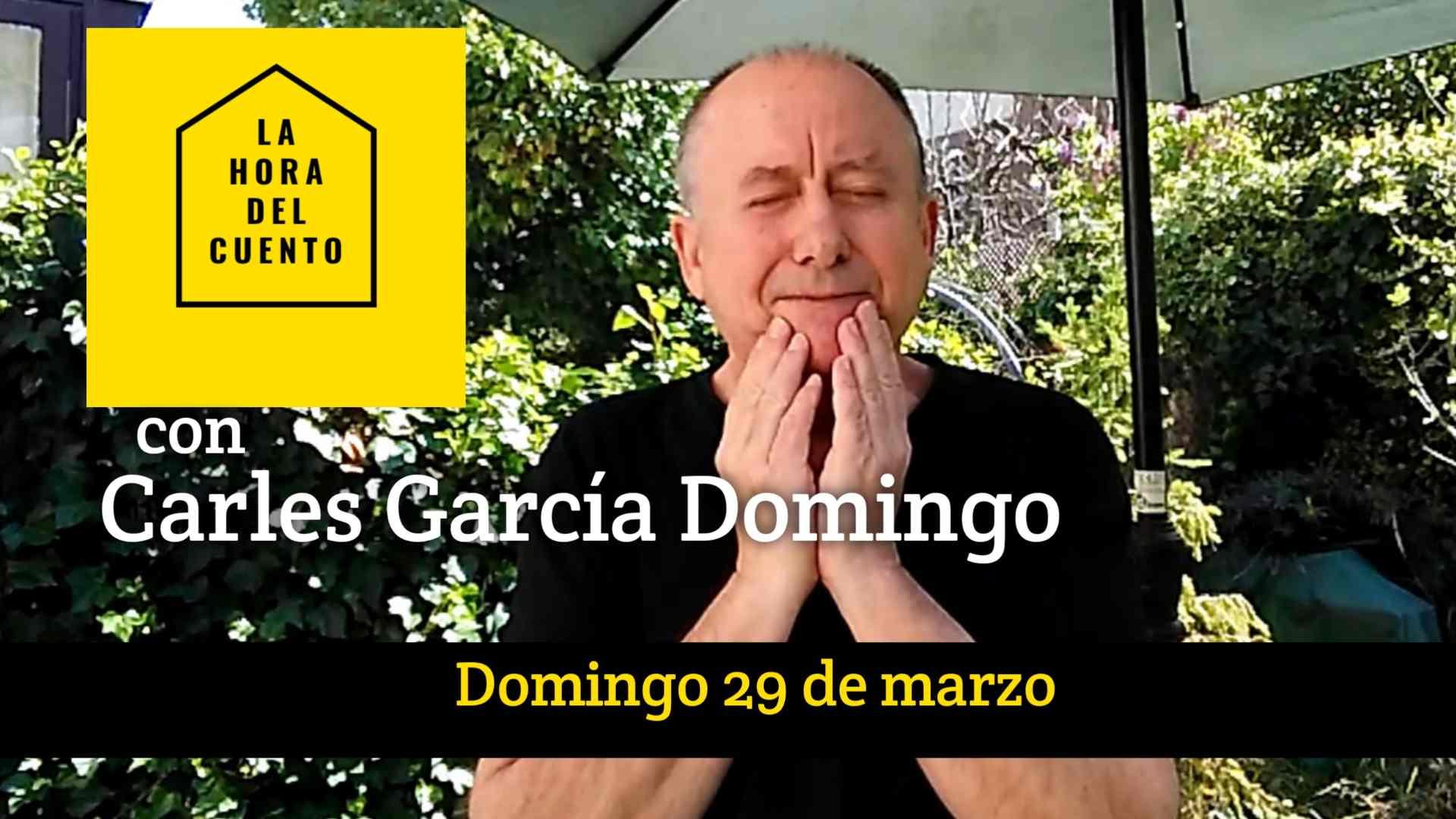 Hora del cuento con… Carles García Domingo