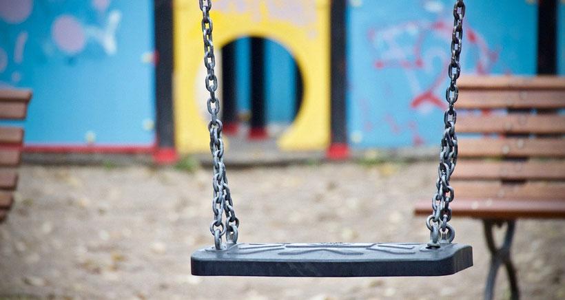 Los parques infantiles de Logroño permanecerán cerrados