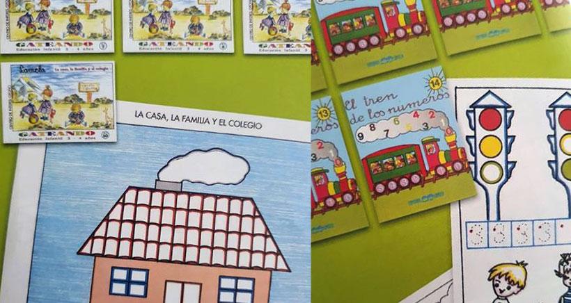 Lamela ofrece cuadernillos gratis para niños de 3 a 6 años
