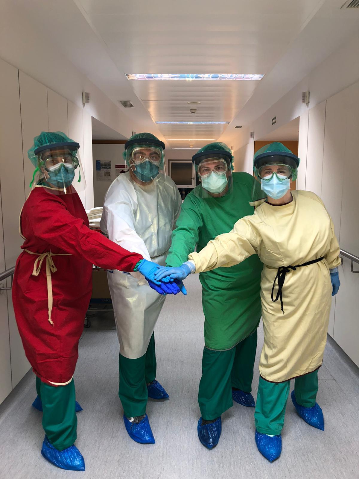 Hospital San Pedro batas de Arnedo