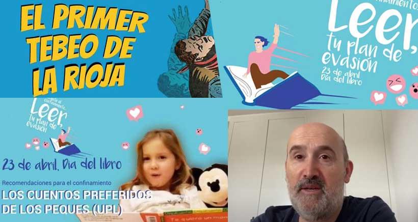¿Qué sorpresas nos reserva la Biblioteca de La Rioja a las familias este Día del Libro?