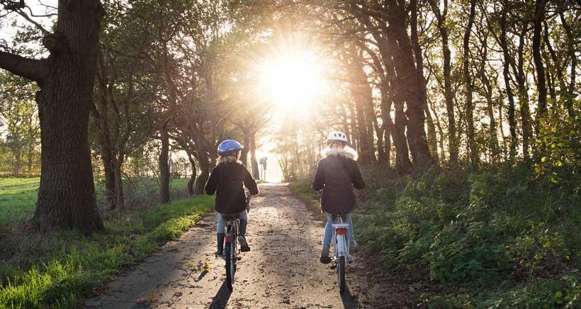 Se acabaron las restricciones para salir a pasear con los niños