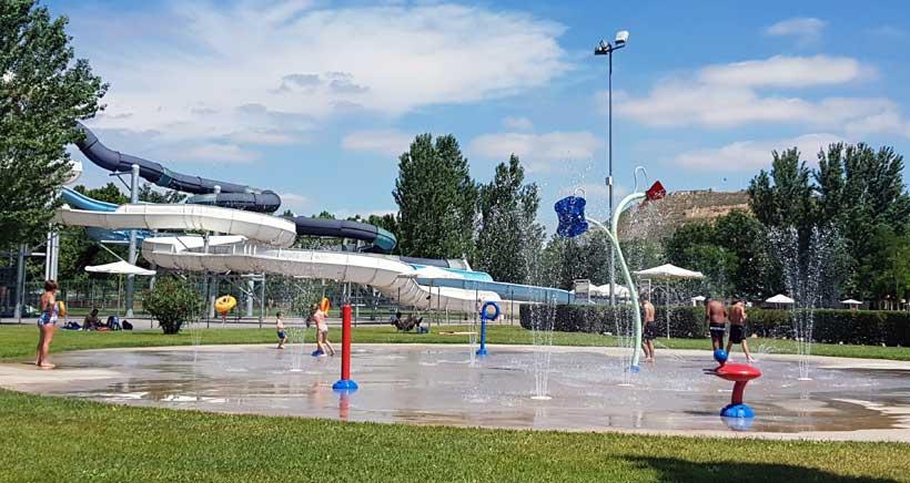 Logroño Deporte anuncia 'Pradoviejo Verano', un nuevo espacio con juegos de agua, solarium y servicio de cafetería