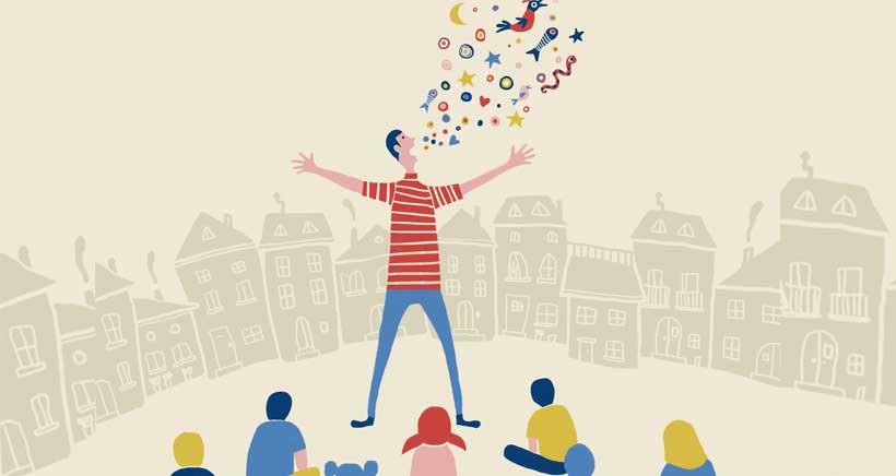 La Biblioteca Rafael Azcona programa sesiones de cuentos al aire libre este verano