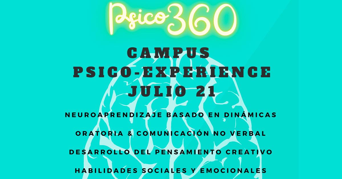 """Psico 360 presenta el campus de verano para """"familias con cerebro"""""""
