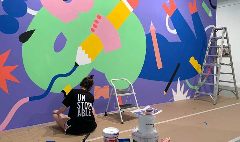 Últimos días de 'Arte Urbana', la exposición de las artistas del grafiti