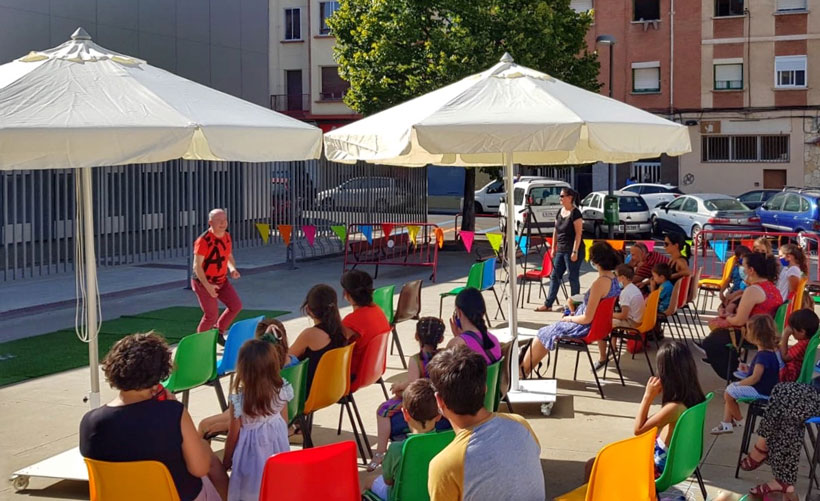 """Cultura accesible y segura al aire libre """"Bajo el cielo de Logroño"""""""