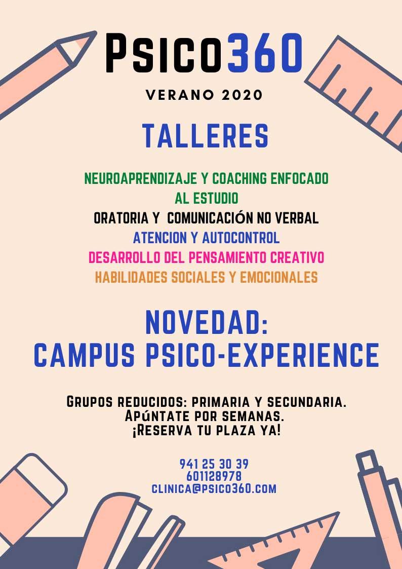 tallers-psico-360-verano-para-ninos-y-jovenes