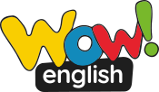 wow english logo