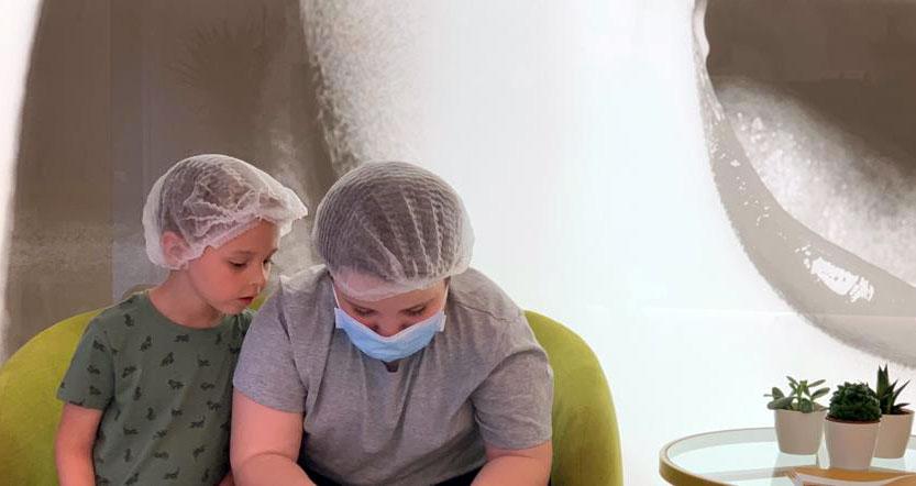 Usar mascarillas ¿podría afectar a la boca de los niños?