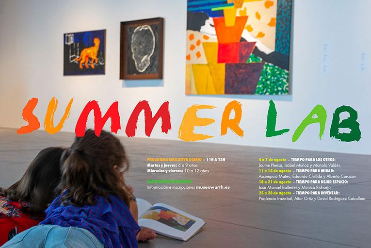 'Summer Lab', la propuesta de Museo Würth La Rioja para que los niños puedan pensar y crear con libertad