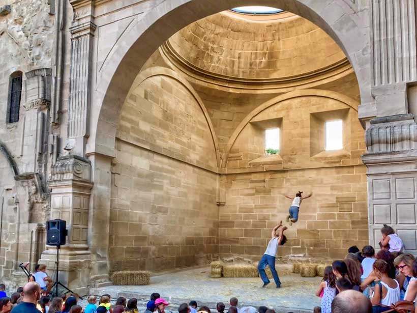 El festival de circo 'Más difícil todavía' regresa a Viana