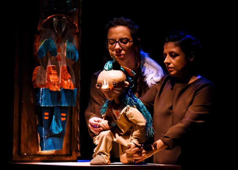 El teatro infantil vuelve al Bretón con Jon Braún, una obra de indios, vaqueros y heroínas