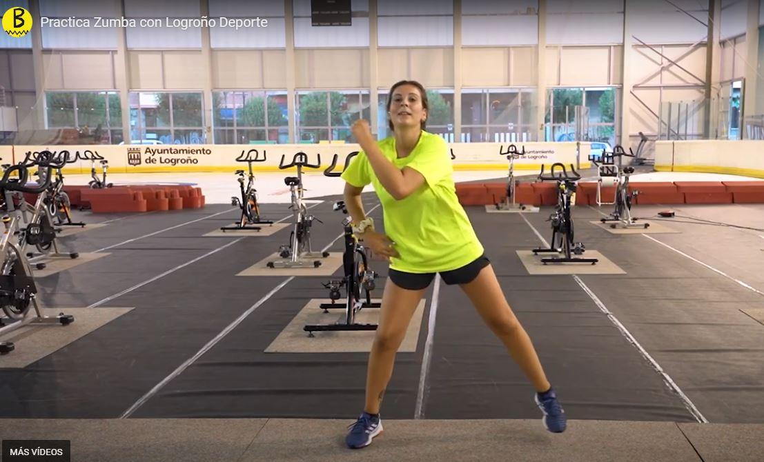 Practica zumba en casa con Logroño Deporte