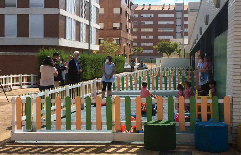 Las escuelas infantiles municipales comienzan el curso con la mitad de sus plazas ocupadas