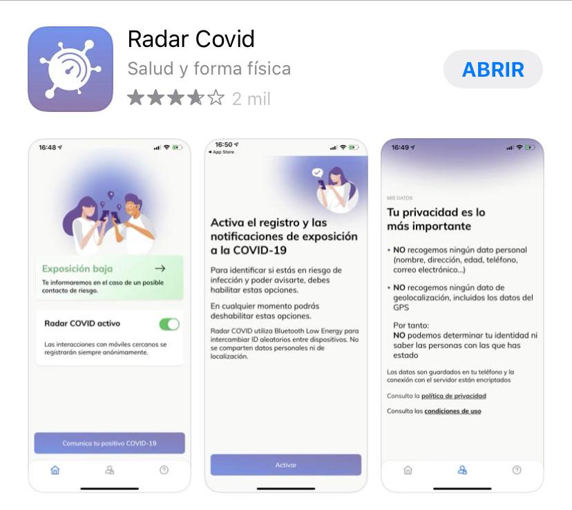 Así se instala la app 'Radar Covid', que ya está plenamente operativa en La Rioja