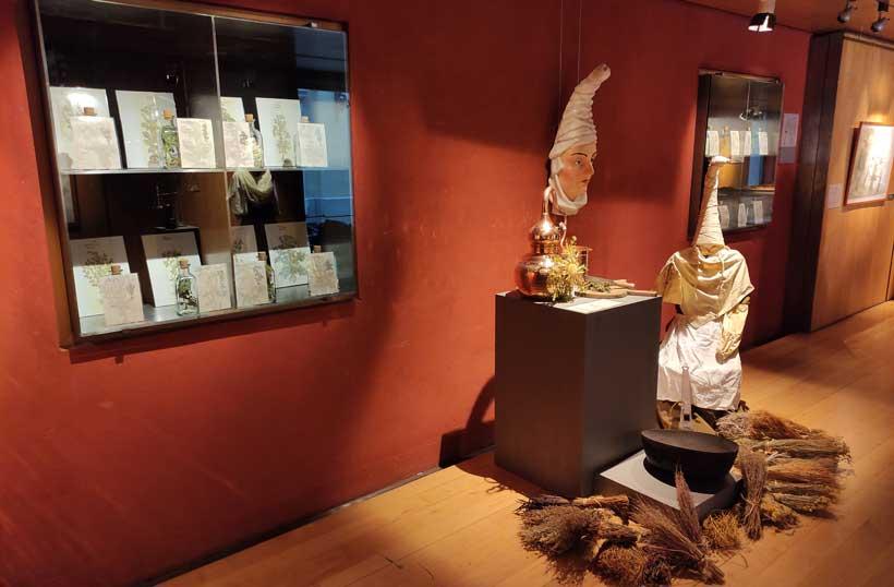 Exposición sobre las Brujas de Zugarramurdi
