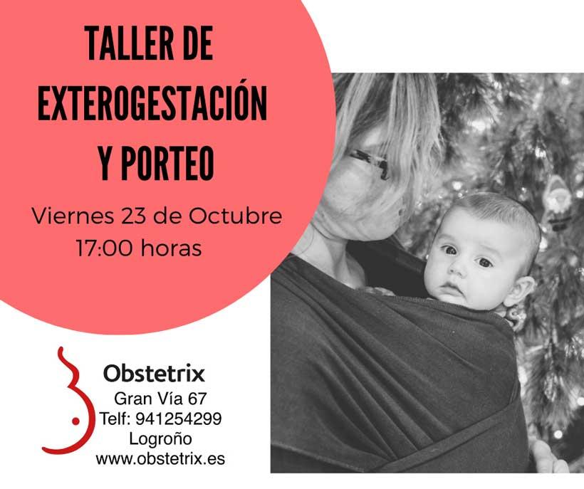 Taller gratuito de porteo y exterogestación en Obstetrix