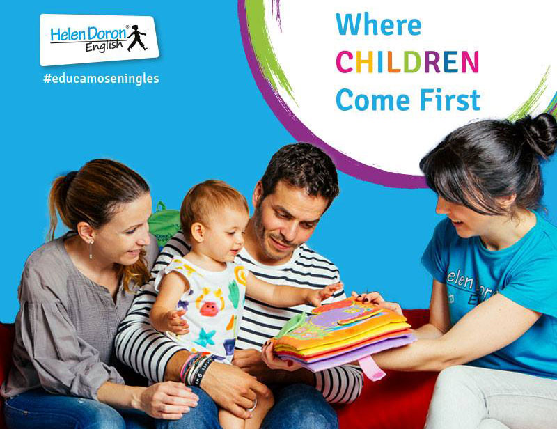 Helen Doron English presenta su grupo matinal para bebés de 2 años