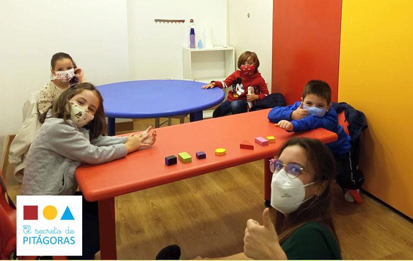 Extraescolares con los compañeros de clase en El Secreto de Pitágoras